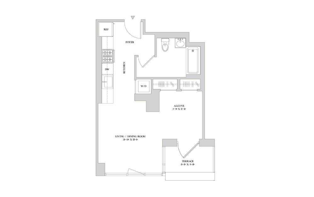 S-2 | Available studio, 1 and 2 bedroom apartments in New ...